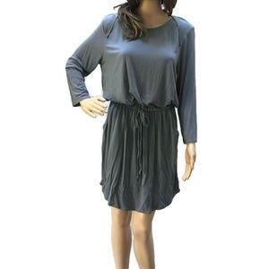 NWT Stitch Fix LA Made Bamboo Drawstring Dress L